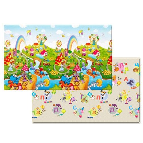 Коврик игровой детский развивающий (2300х1400х15) art. DW-L15, 030 / Dino Land (RUS-BE)
