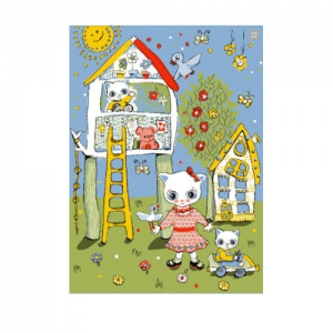 Детский развивающий ковер PTT JOYFUL KIDS Домик на дереве