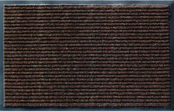 Коврик придверный Trade полипропилен/резина коричневый 400х600 мм