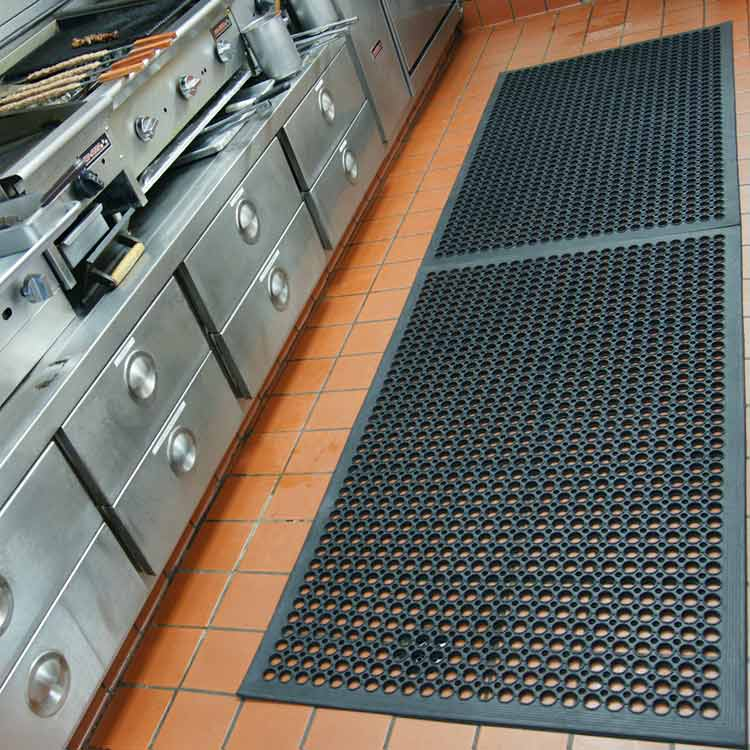 Ресторанный коврик 900х1500х14мм (кант)