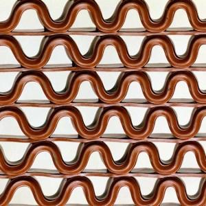 Рулонное ячеистое покрытие для бассейна 900х12000х8мм, цвет коричневый